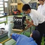 エンジンの分解・組立