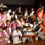 決勝トーナメント進出した(左から)愛知県・群馬県・岐阜県・千葉県