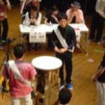決勝トーナメントは大将矢島先生で臨んだが、最後は中堅を相手に敗退